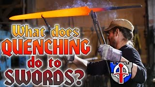 What quenching and tempering does to SWORDS