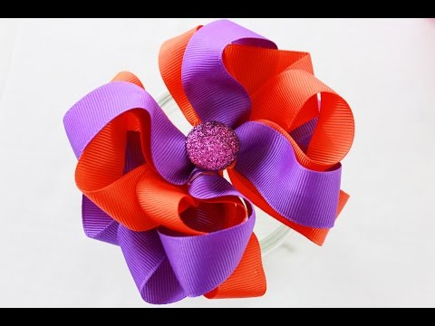 Let's make a hairbow! /Something different/ DIY HOW TO MAKE A HAIR BOW