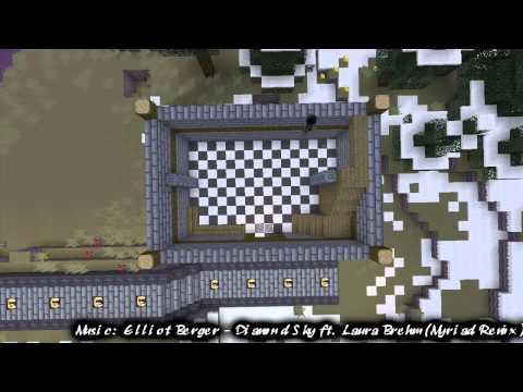 Minecraft Xbox 360: Town Speedbuild #1 - Bakery - Part 1