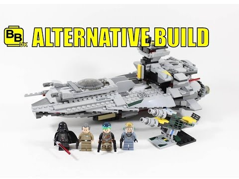 LEGO STAR WARS 75150 ALTERNATIVE BUILD VADER'S LIGHT STAR DESTROYER