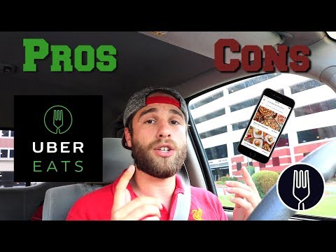 PROS & CONS OF DRIVING UberEATs