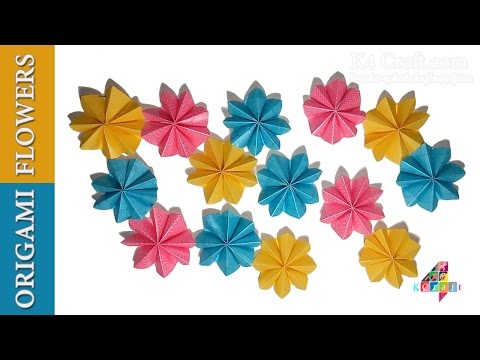 Ganpati Flower Decoration Paper Flower Decoration For Ganpati