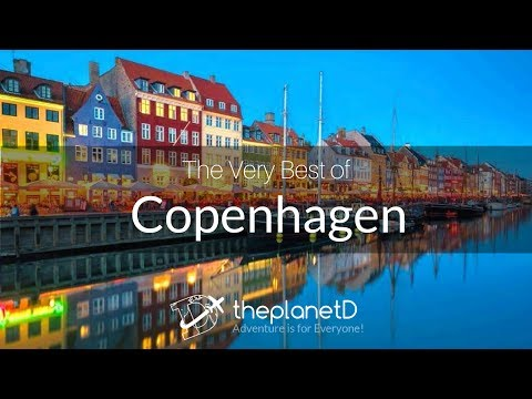 Top 10 Awesome Things to do in Copenhagen - Sony 4k and dji Osmo | Vlog