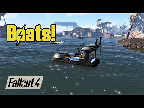 Boats! Driveables of the Commonwealth: A Fallout 4 mod