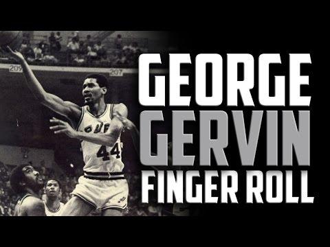 George Gervin Finger Roll: Basketball moves