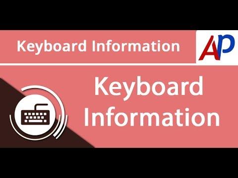 Keyboard Information Gujarati