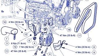 2006 mazda tribute alternator replacement