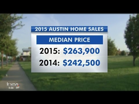 Austin housing prices rise, more homes sold in 2015