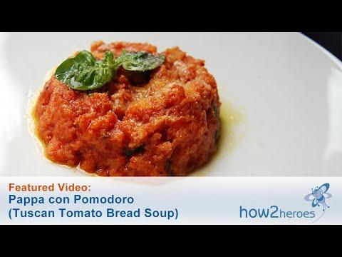 Pappa con Pomodoro (Tuscan Tomato Bread Soup)