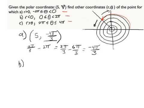 Find Other Polar Coordinates 8.1