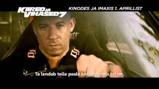 KIIRED JA VIHASED 7 - Eesti teleklipp (kinodes 1. aprillist)