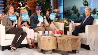 Ashton Kutcher and Dax Shepard Surprise Mila Kunis and Kristen Bell to Play