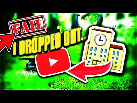 I DROPPED OUT OF SCHOOL TO PURSUE MY YouTube CAREER...