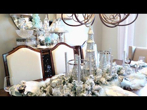 NEW! Christmas Tablescape Winter Wonderland