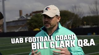 UAB head coach Bill Clark speaks about the future of the program