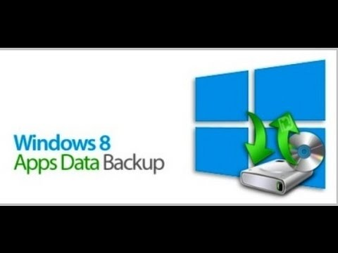 Windows 8 Apps Data Backup Deutsch