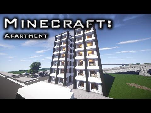 Minecraft: Modern Apartment Tutorial 1