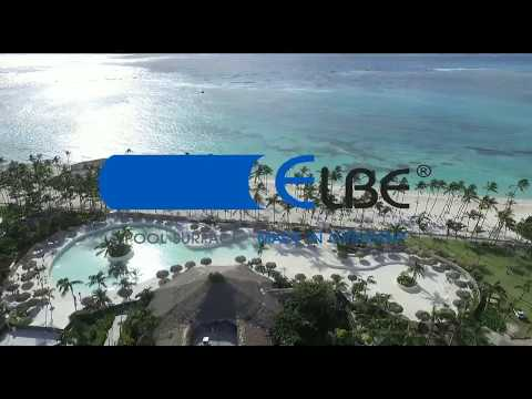 INSTALLATION  ELBE POOL SURFACE   COMMERCIAL PROJECT IN PUNTA CANA