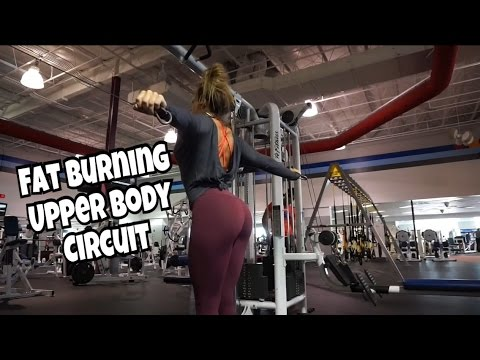 Upper Body Plyo Circuit | Whittle Your Middle Series #2