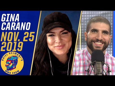 Gina Carano makes her show debut, explains why she hasn't fought again | Ariel Helwani's MMA Show