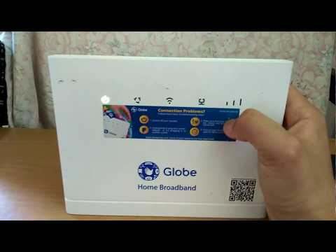 Globe Home Broadband / Prepaid Wi-Fi router Reset forgotten password