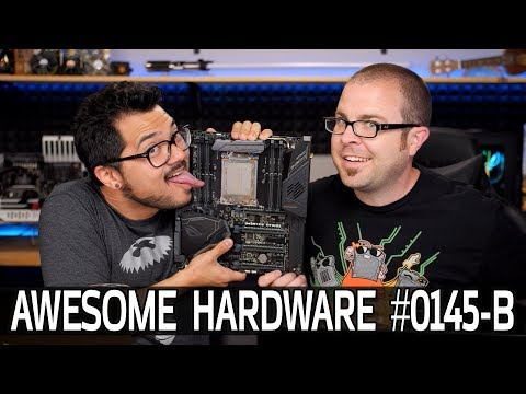 Awesome Hardware #0145-B: Intel Finally Launches The Rest of the Coffee Lake Stuff
