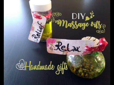 Massage oils,an easy DIY