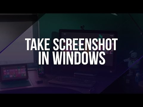 How To Take Screenshot on Windows 7/8/8.1/10