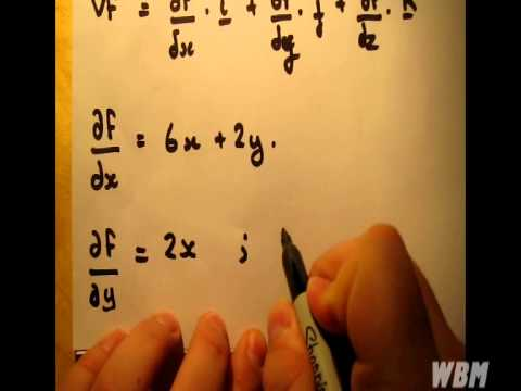 Directional Derivatives Example #1