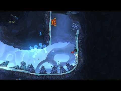 Rayman Origins - crazy treasure chest run (Tricky Treasure Temple)