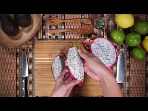 How to cut a Dragonfruit