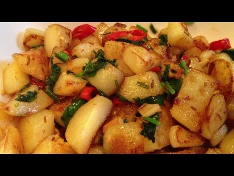 Batata Harra - Vegetarian Recipes