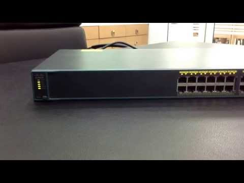 Resetting Cisco Catalyst 2960 Switch To Factory Defaults By Button.