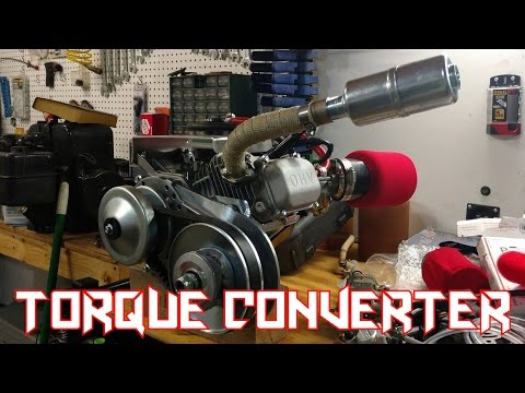 Predator 212 Go Kart Torque Converter Install