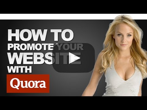 How To Promote Your Website With Quora