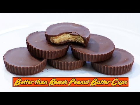 How to make Better than Reese's Peanut Butter Cups from Scratch for Cheap