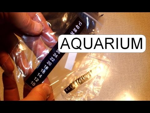 UNBOXING AQUARIUM THERMOMETER STICK