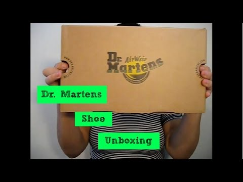 Dr. Martens Shoe Unboxing!