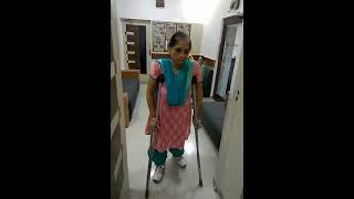 soniya shah IVF pregnancy with polio at Planet Women Hospital,Ahmedabad