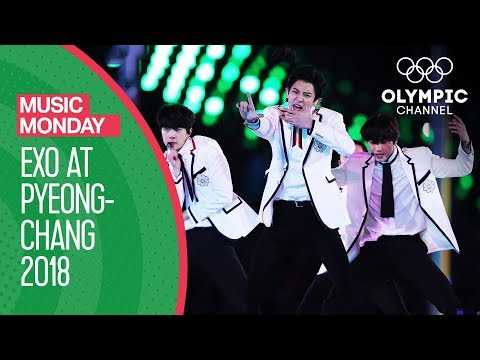 EXO at the Winter Olympics -  FULL Performance - PyeongChang 2018 Closing Ceremony | Music Monday
