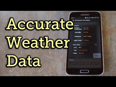 Get Truly Local Weather Readings from Your Galaxy S5's Built-in Sensors [How-To]