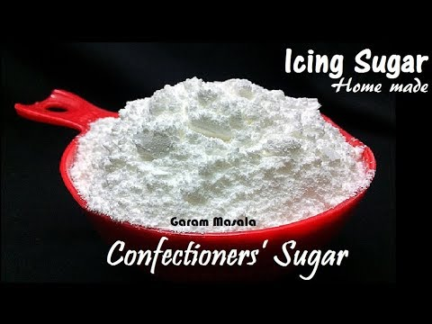 Homemade Icing Sugar / Confectioners' Sugar, Best way to Store & How long can keep.