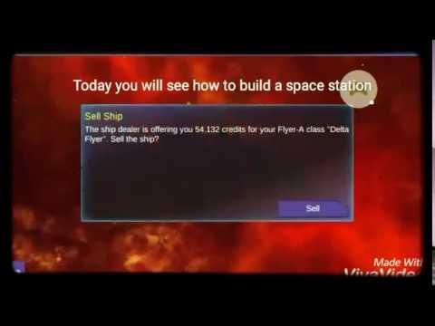 Interstellar pilot space station build