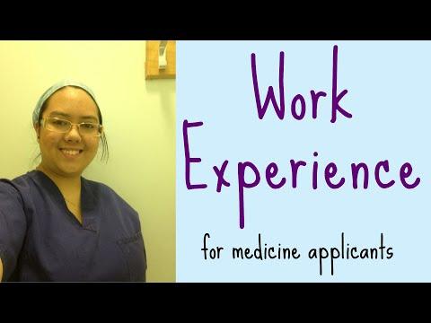 Work Experience for Medicine | Graduate Entry Medicine (UK)