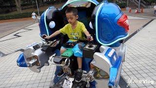 機器戰士、小火車、賽車、遊樂園…YA小寶還真玩不膩!@YA叫獸Vlog