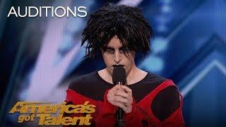 Oliver Graves: Gothic Comedian Slays Hilarious Set, Gets Emotional - America