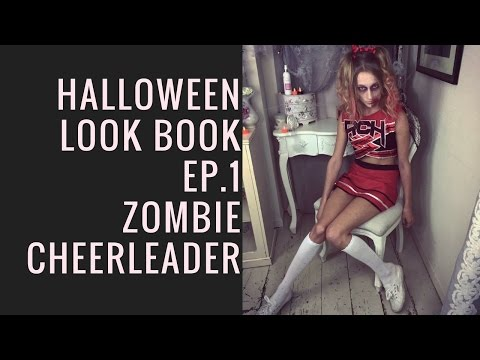 Halloween Look Book- Zombie Cheerleader By SweetHearts Hair