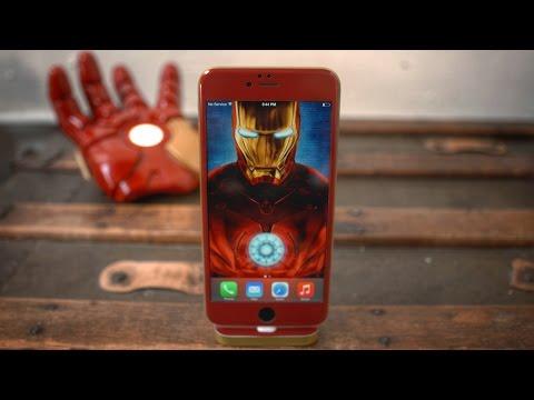 iPhone 6 Iron Man Edition?!