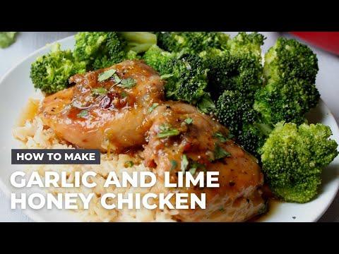 Honey Garlic and Lime Chicken Recipe