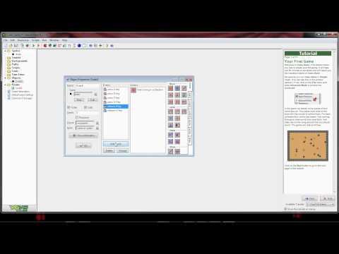 Game Maker 8.1 Lite - Beginner (Getting Started - Tutorial)